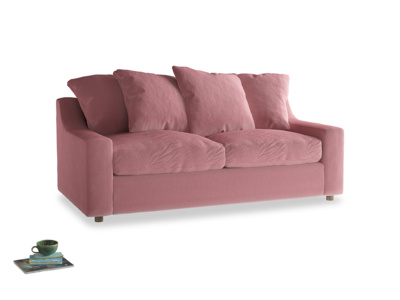 Medium Cloud Sofa in Dusty Rose clever velvet