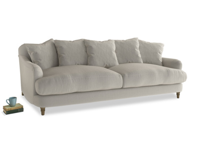 Large Achilles Sofa in Smoky Grey clever velvet