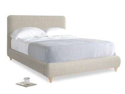 Upholstered contemporary luxury Ruffle bed