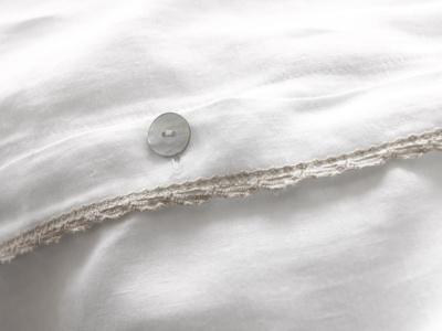 Beautiful Belgian crushed linen Lordy duvet cover