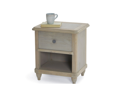 Handmade beautiful Polder bedside table