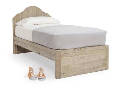 Greta cool wooden kids' single bed