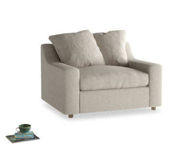 Beautiful British made Cloud snuggler sofa and love seat
