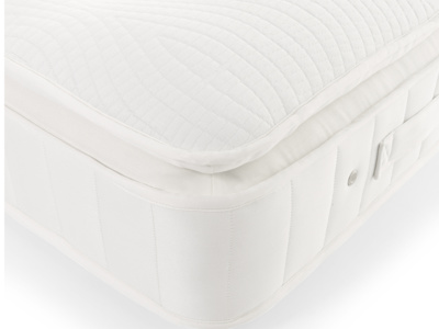 Natural latex pocket sprung Muffin Top memory foam mattress