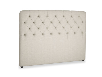 Upholstered buttoned handmade contemporary Billow headboard