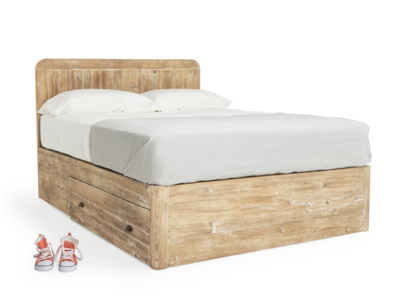 Superking Woody Storage Bed in Reclaimed Fir