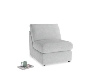 Chatnap Storage Single Seat in Pebble vintage linen