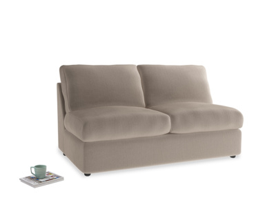 Chatnap Sofa Bed in Fawn clever velvet