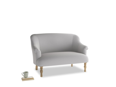 Small Sweetie Sofa in Flint brushed cotton