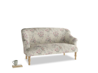 Medium Sweetie Sofa in Pink vintage rose