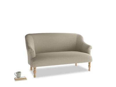 Medium Sweetie Sofa in Jute vintage linen