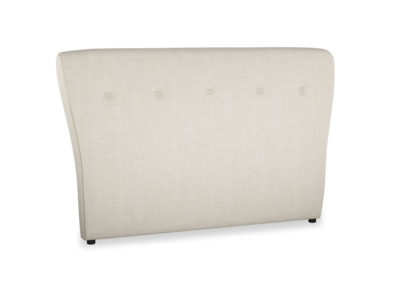 Upholstered retro buttoned handmade Smoke headboard