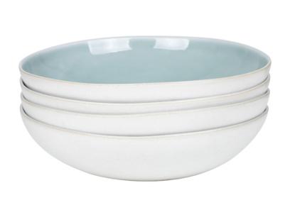 Kilny blue and white crockery pasta bowls