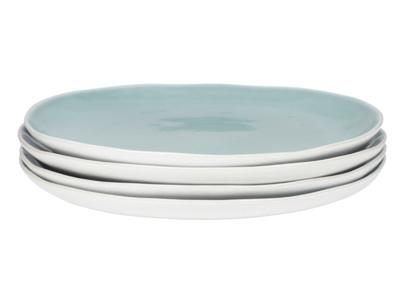 Kilny crockery and blue dinner plates