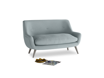 Small Berlin Sofa in Quail's egg clever linen