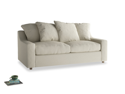 Medium Cloud Sofa in Pale rope clever linen