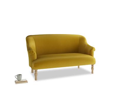 Medium Sweetie Sofa in Burnt yellow vintage velvet