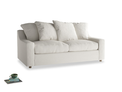 Medium Cloud Sofa Bed in Oyster white clever linen