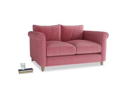 Small Weekender Sofa in Blushed pink vintage velvet