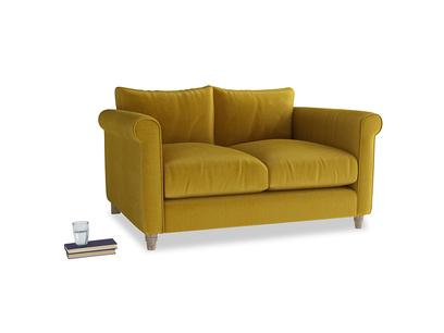 Small Weekender Sofa in Burnt yellow vintage velvet