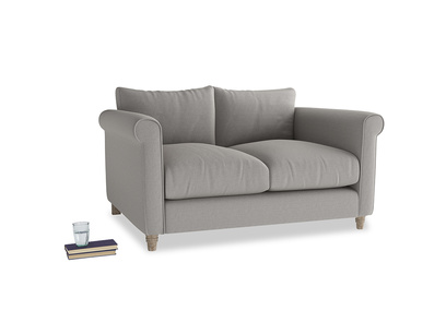 Small Weekender Sofa in Wolf brushed cotton