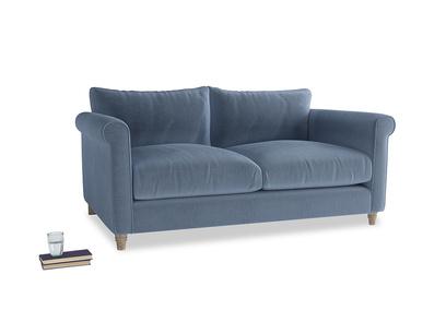 Medium Weekender Sofa in Winter Sky clever velvet