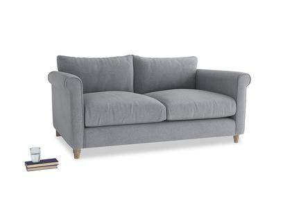 Medium Weekender Sofa in Dove grey wool