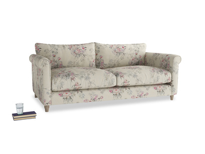 Large Weekender Sofa in Pink vintage rose