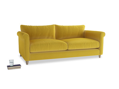 Large Weekender Sofa in Bumblebee clever velvet