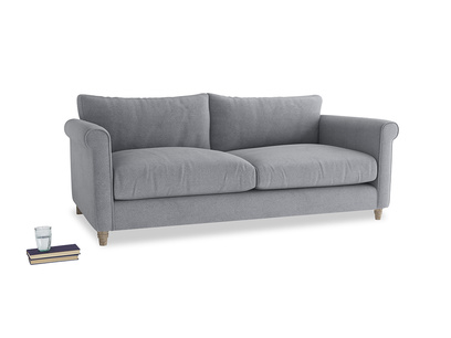 Large Weekender Sofa in Dove grey wool