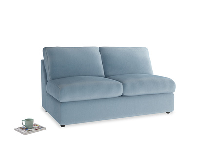 Chatnap Sofa Bed in Chalky blue vintage velvet