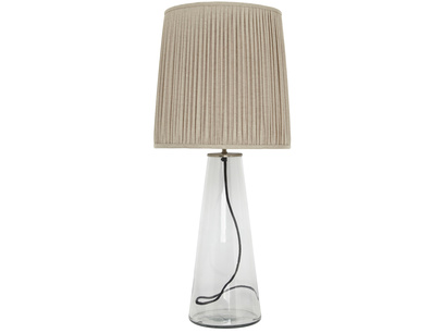 Shardy Table Lamp with Natural Linen shade