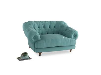 Bagsie Love Seat in Kingfisher clever cotton
