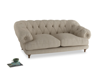 Medium Bagsie Sofa in Flagstone clever woolly fabric