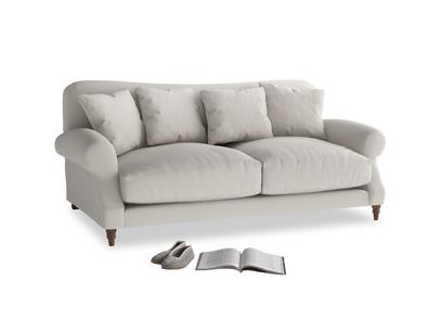 Medium Crumpet Sofa in Moondust grey clever cotton