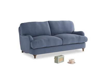 Small Jonesy Sofa in Breton blue clever cotton