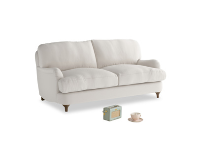 Small Jonesy Sofa in Chalk clever cotton