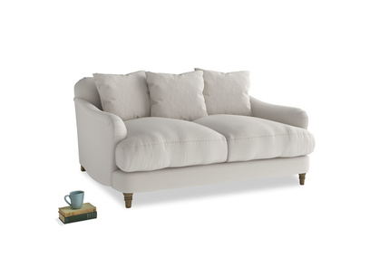 Small Achilles Sofa in Moondust grey clever cotton