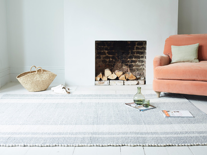 Babouche Natural woven floor rug
