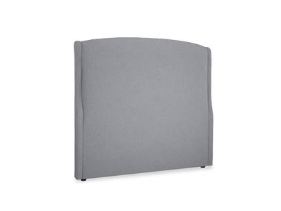 Double Dazzler Headboard in Dove grey wool