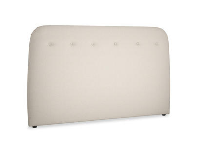 Superking Napper Headboard in Buff brushed cotton