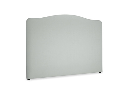 Kingsize Tall Luna Headboard in Eggshell grey clever cotton