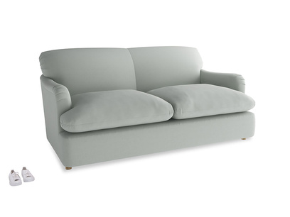 Medium Pudding Sofa Bed in Eggshell grey clever cotton
