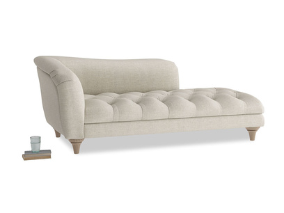 Slumber Jack button base chaise longue