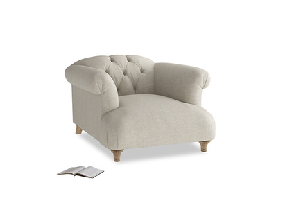 Chesterfield button back luxury British made Dixie armchair