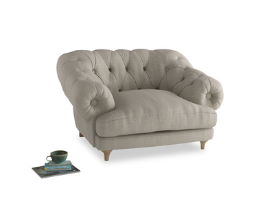 Luxury Bagsie chesterfield love seat and snuggler