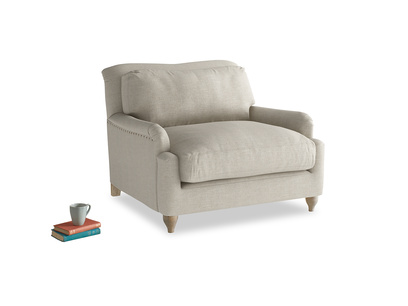 British made Pavlova luxury love seat and snuggler