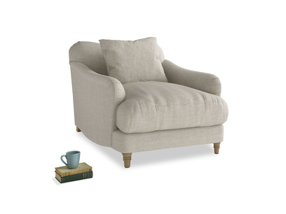 Deep comfy luxury Achilles British made armchair
