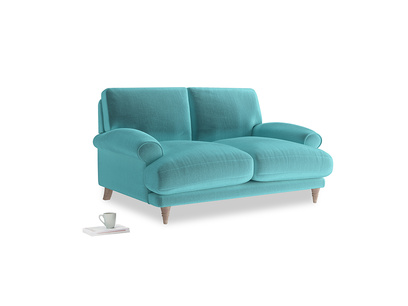 Small Slowcoach Sofa in Belize clever velvet