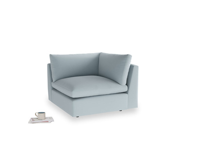 Cuddlemuffin Corner Unit in Scandi blue clever cotton